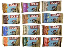 Clif Bar Variety Pack, 1 Bar of Each Flavor (12-Count)