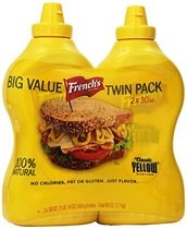 French's Yellow Mustard, 30 Oz. (2-Count)