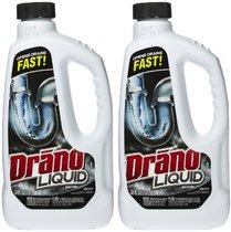 Drano Liquid Clog Remover, Regular Formula, 32 Oz. (2-Count)