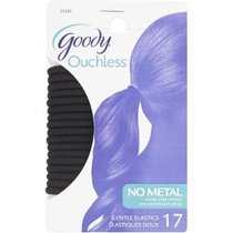 Goody Hair Bands, Black (17-Count)