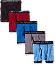 Hanes Boxer Boys Briefs Underwear (5-Packs)