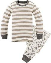 Children Pajamas Striped Cotton Clothing For Boys Set Size 2T-7