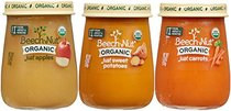 Beech-Nut Organic Stage 1 Baby Food Variety Pack, 4.25 Ounce (Pack of 10)