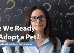 Ask Amanda: Are We Ready to Adopt a Pet?