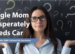 Ask Amanda: Single Mom Desperately Needs a Car