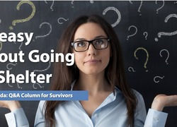 Ask Amanda: Uneasy About Going to Shelter