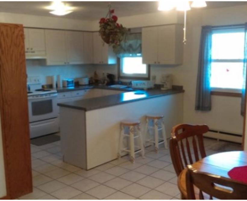 Temporary Living Program Kitchen