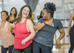 ways to rebuild self-esteem after abuse by dancing and friends