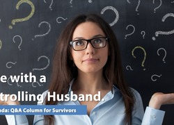 Survivor of coercive control is intimidated by her husband