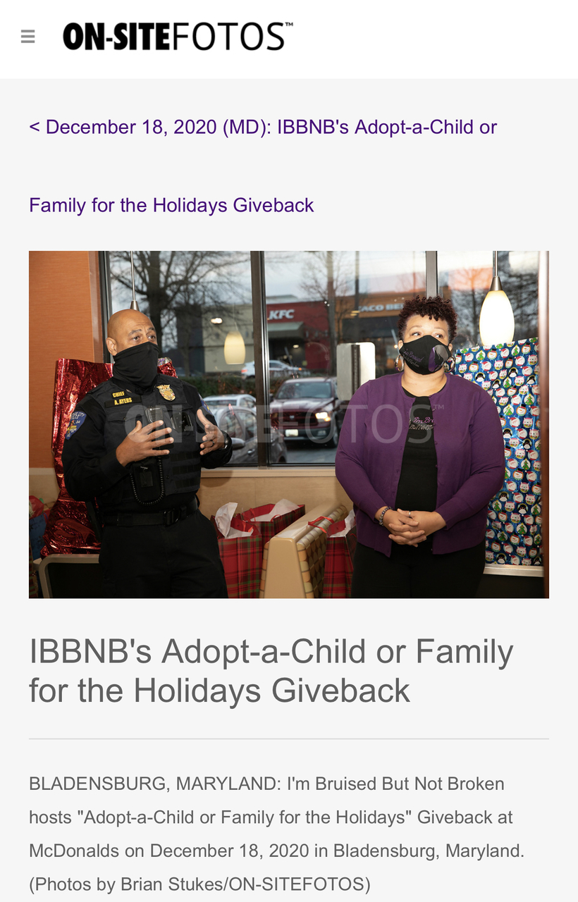 IBBNB Holiday Giving Campaign
