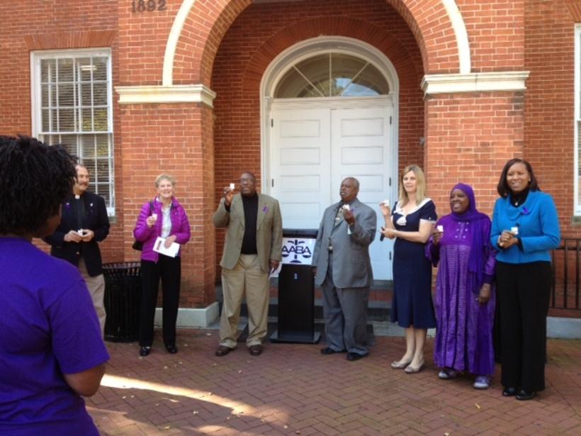 InterFaith Prayer Virgil To End Domestic Violence