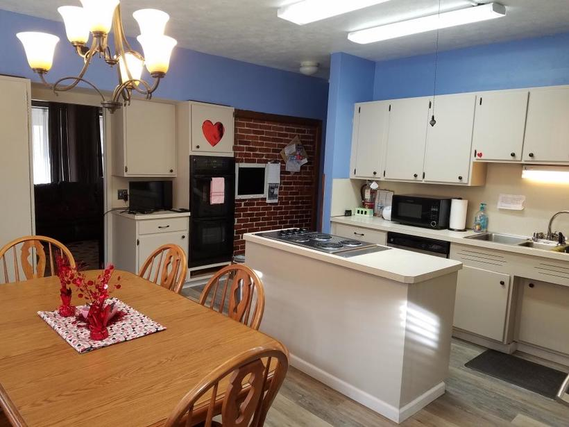 Our comfortable family kitchen