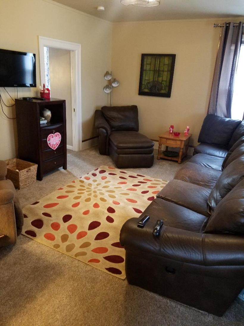 Our comfortable living room, a place to relax