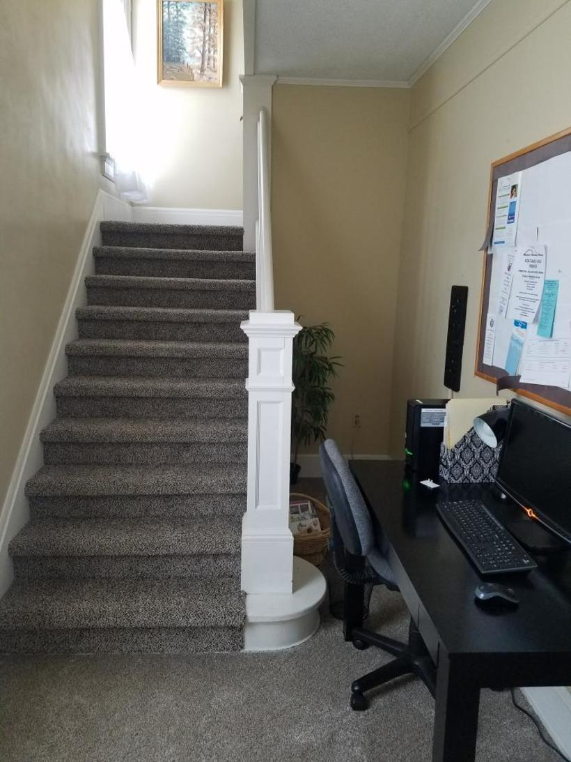 Our client office area