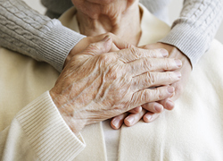 senior living in nursing home is abused by caretaker