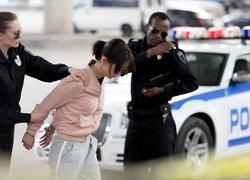 Survivor arrested for shooting her abusive husband