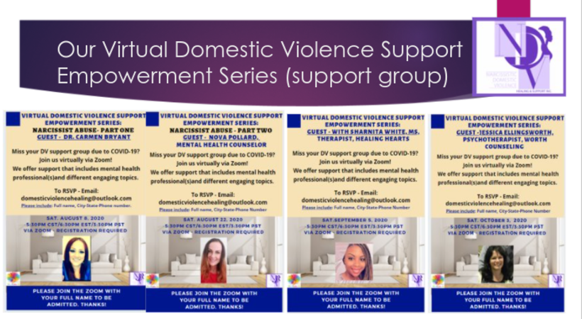 Our Support Group : Virtual Domestic Violence Support Empowerment Series