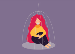 A woman attempts to leave an abusive partner wielding coercive control over her.