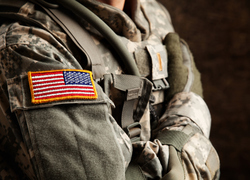 Abuse at the hands of a military spouse